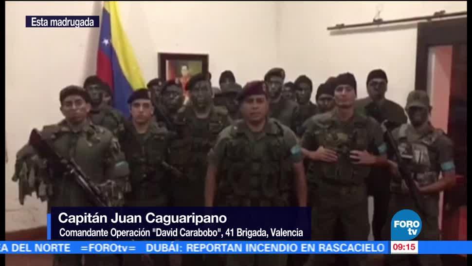 Grupo militar Rebela Contra Nicolás Maduro