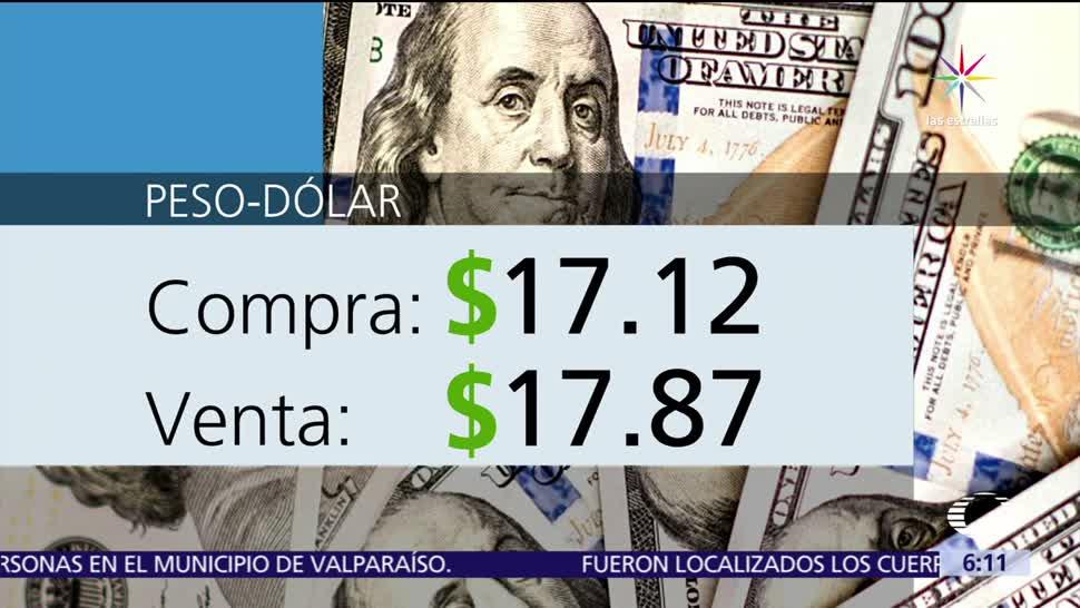 Dólar, vende, 17.87, pesos
