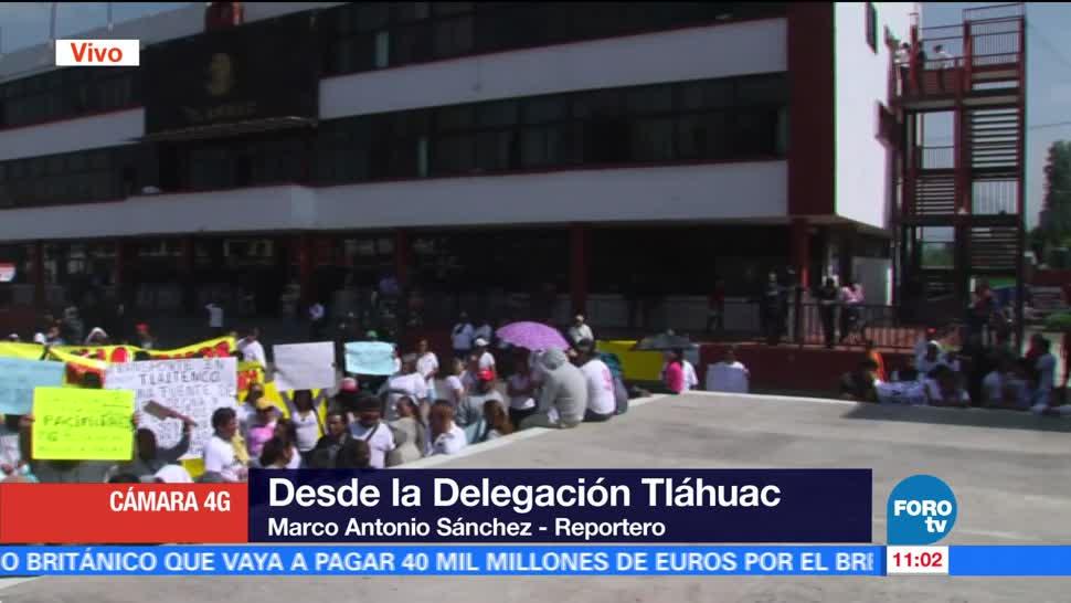 Mototaxistas, Tláhuac, protestan, regularización