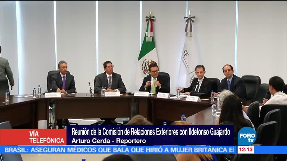 Ildefonso Guajardo, explica, renegociación, TLCAN