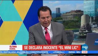 Declara Inocente Mini Lic Estados Unidos Damaso Lopez Serrano Alias El Mini Lic