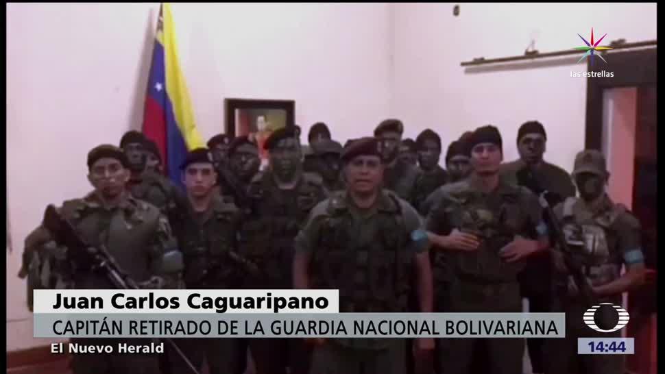 Fuerzas Militares Venezolanas Controlan Rebelion Venezuela Armadas