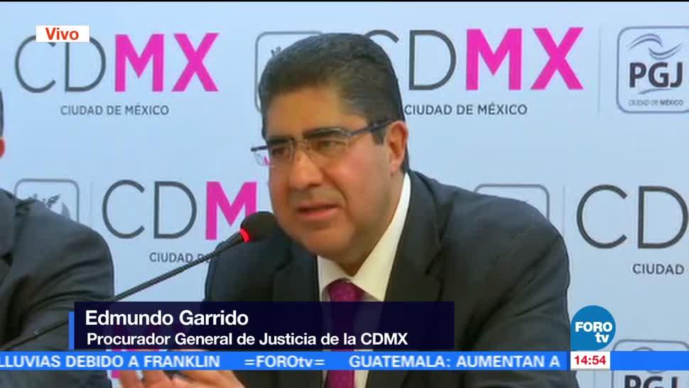 Detienen Hombre Relacionado Homicidio Iztacalco Procurador Capitalino Edmundo Garrido