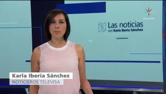 Las noticias, con Karla Iberia: Programa del 7 de agosto 2017