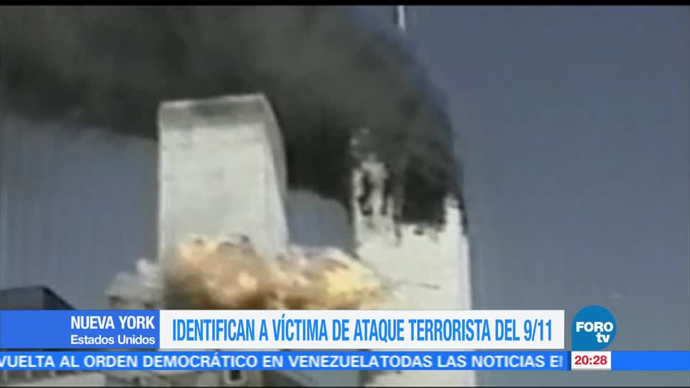 Identifican víctima ataque terrorista torres gemelas