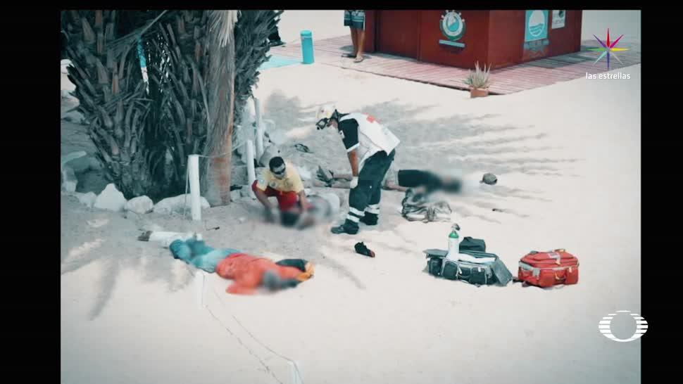 Violencia en Los Cabos y Acapulco