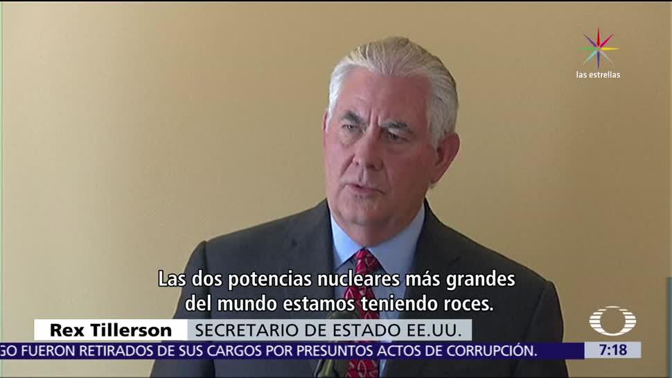 Tillerson EU Dialogar Corea del Norte