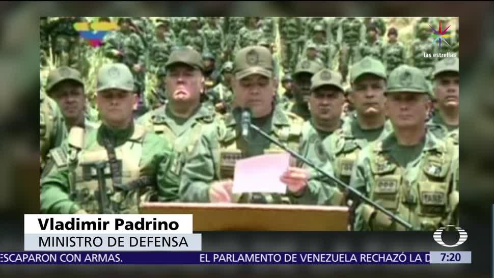 militares, acusados, rebelión, Venezuela