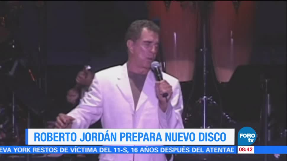 Roberto Jordán Prepara Disco Inédito