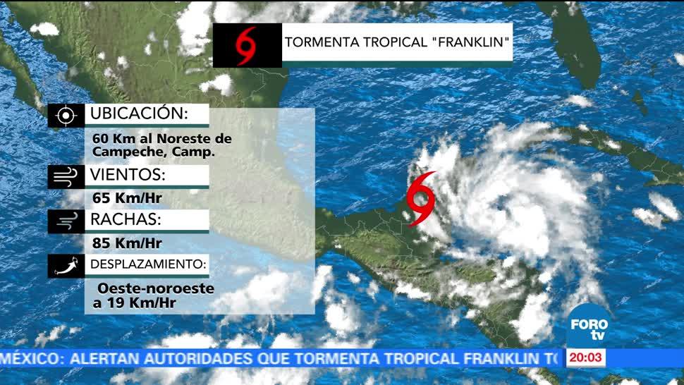 Quintana Roo reporta saldo blanco Franklin