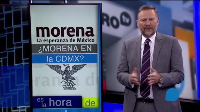 Aspirantes de Morena en la CDMX