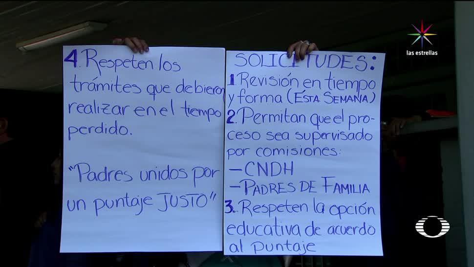 Protestan UNAM por error exámenes bachillerato