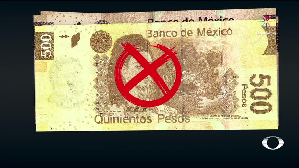 México circulan más mil billetes falsos