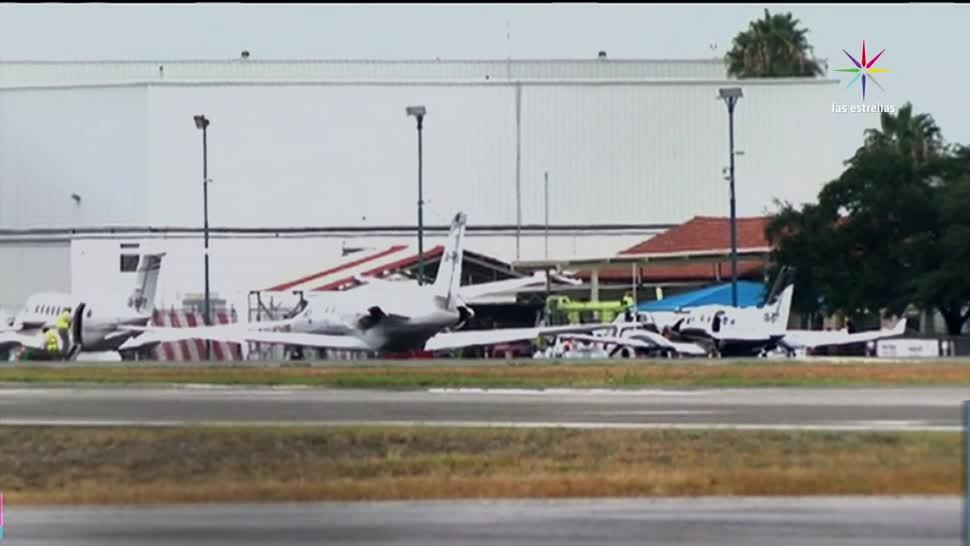 Aeropuerto, opera, daños, lluvias