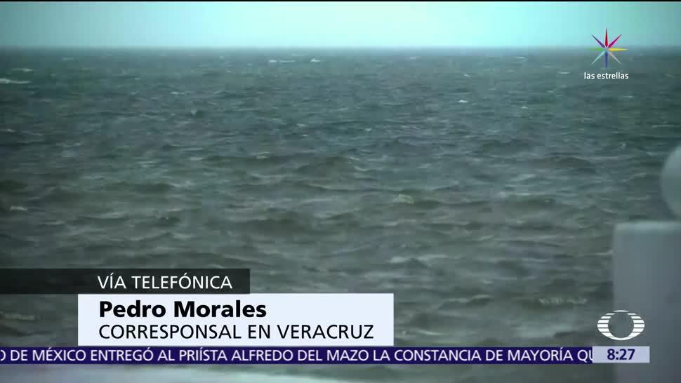 Pescadores, Veracruz, tormenta, Franklin