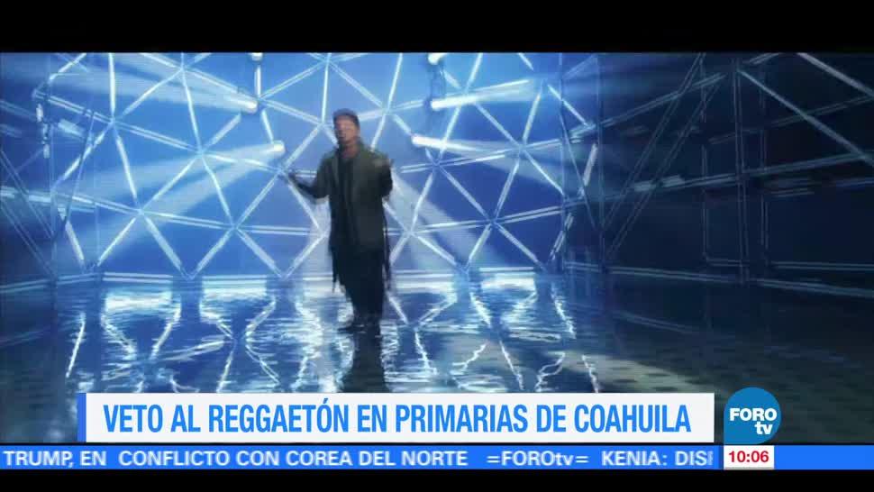 Impulsan, veto, reggaetón, Coahuila