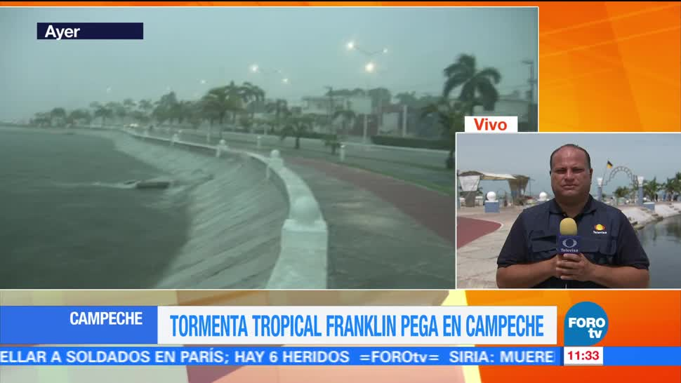 Saldo blanco, daños, materiales, Campeche