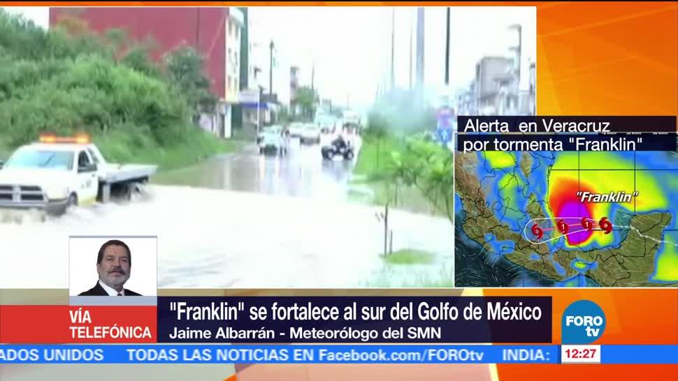 Franklin, afectará, centro, país