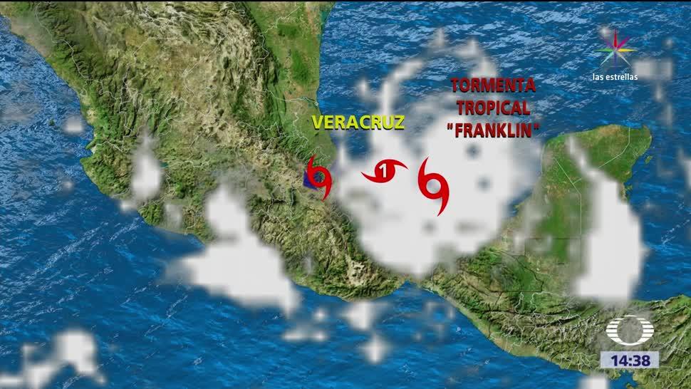 Albergues listos Veracruz ante proximidad Franklin