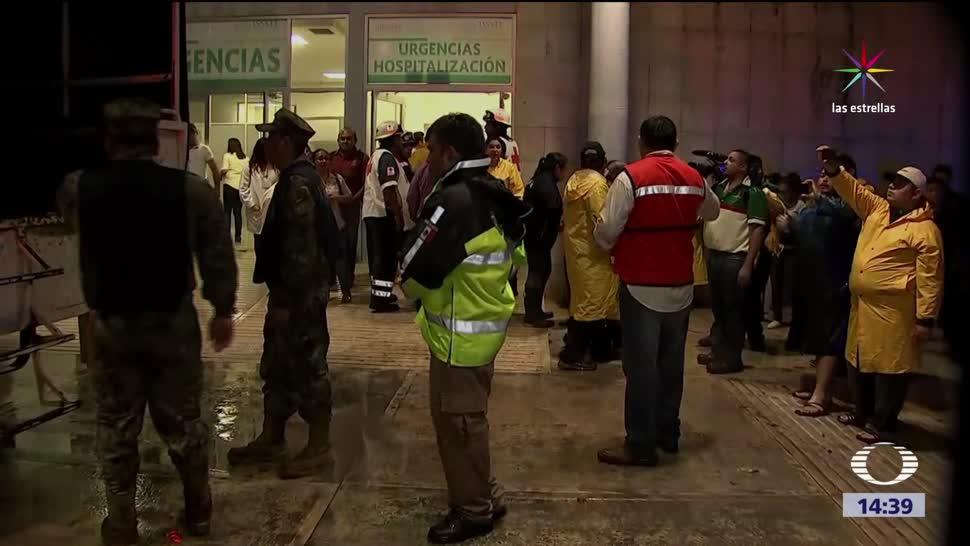 Franklin dañó hospital del ISSSTE Campeche