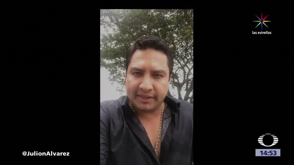 Julión Álvarez acusado EU vínculos narco