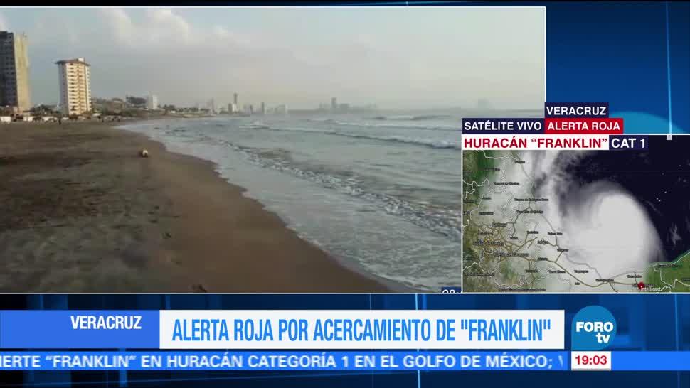 Recomendaciones para Veracruz por huracán 'Franklin'