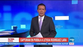 Capturan a Leticia Rodríguez vinculada a actos violentos en Cancún