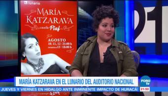 María Katzarava en el Lunario del Auditorio Nacional