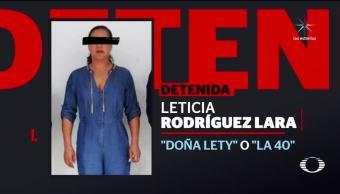 Cae Doña Lety ligada a violencia en Cancún