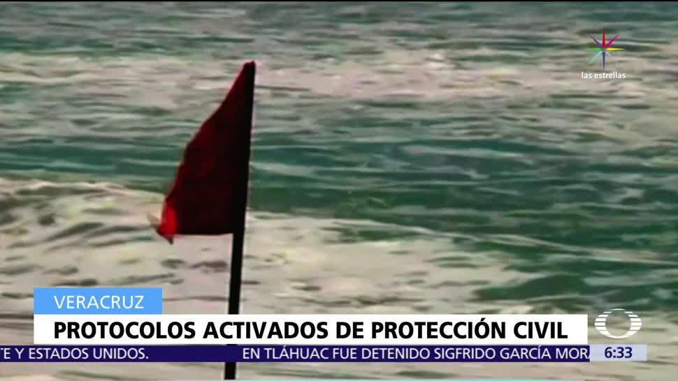 Alerta Veracruz Lluvias Tormenta 'Franklin'