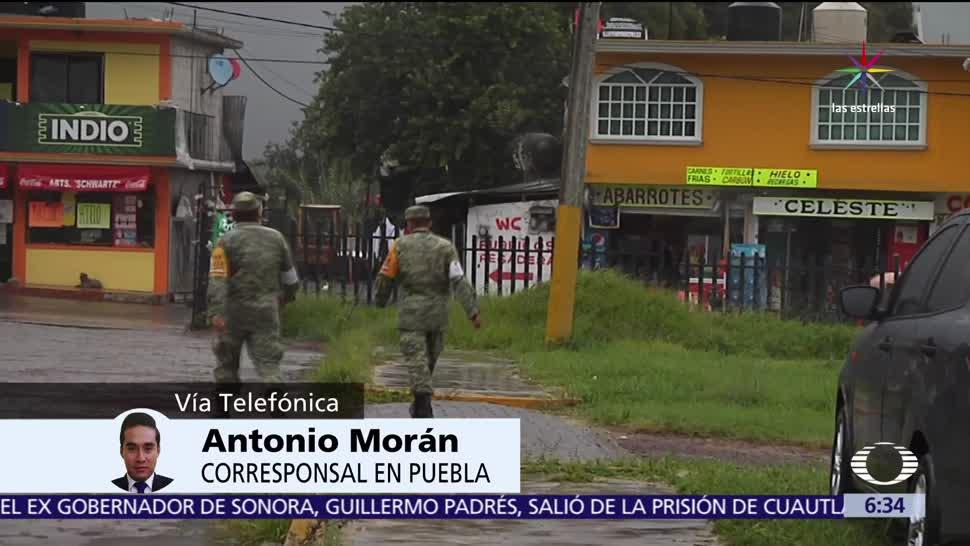 Puebla, lluvias intensas, tormenta, Franklin