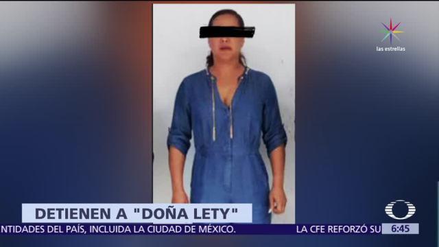 Detienen Doña Lety Cártel del Pacífico Cancún