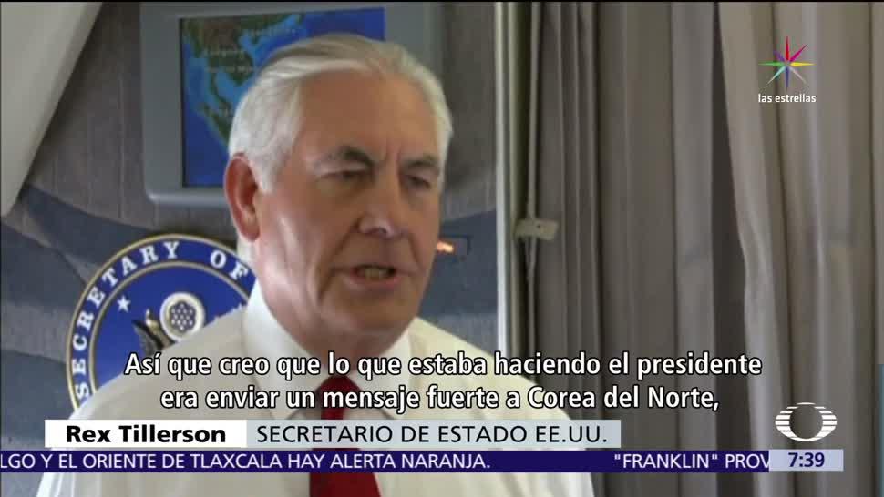crisis, Corea, Tillerson, EU