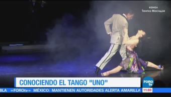 Uno, tango, representativo, género