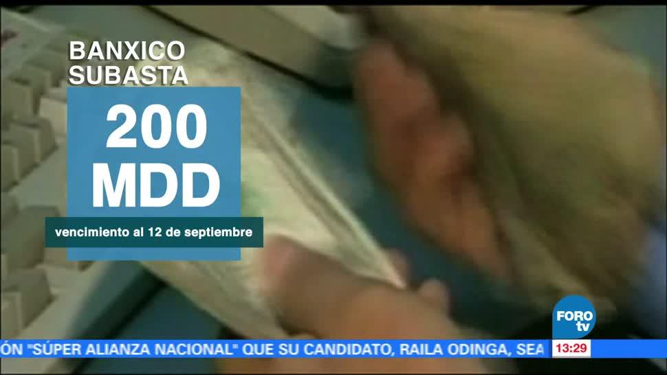 Banxico renuevaquinta ocasión programa de coberturas
