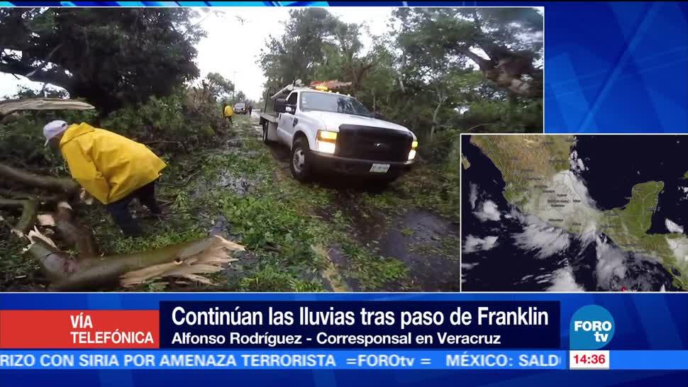 municipios Veracruz no tienen electricidad Franklin