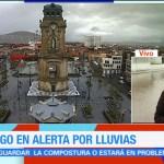 Continúan lluvias Puebla Hidalgo Franklin