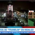 Lluvias intensas por 'Franklin' afectan a municipios de Hidalgo