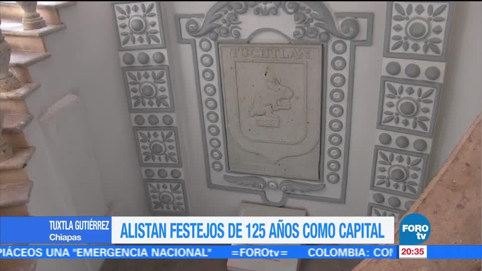 Tuxtla Gutiérrez cumple 125 años de ser la capital de Chiapas