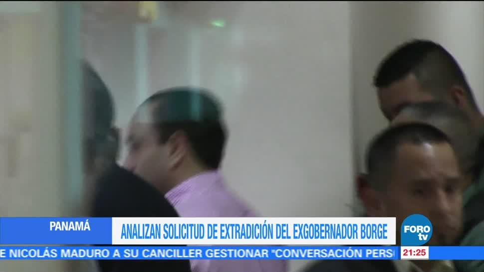Panamá analiza solicitud de extradición del exgobernador Roberto Borge