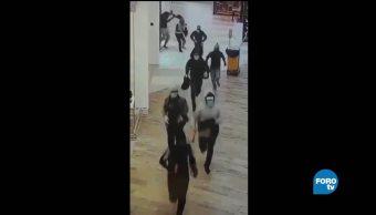 Liberan a rehén secuestrado durante asalto a joyería en Tampico