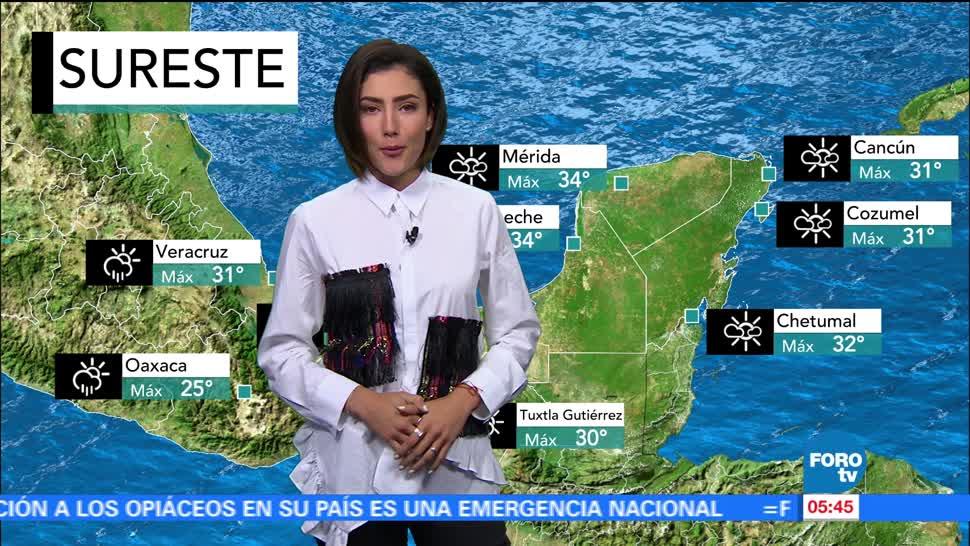El clima Daniela Álvarez 11 agosto