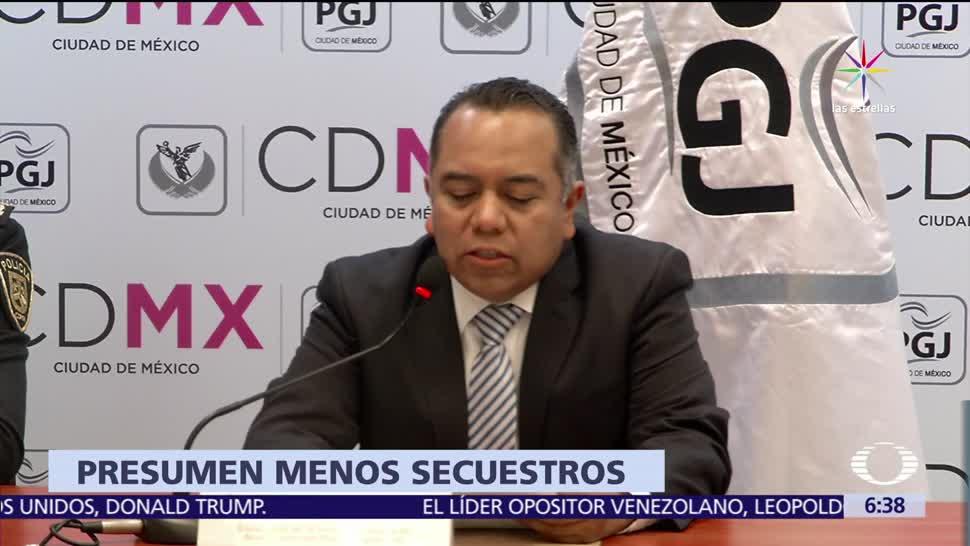 Bajan secuestros en la Ciudad deMéxico