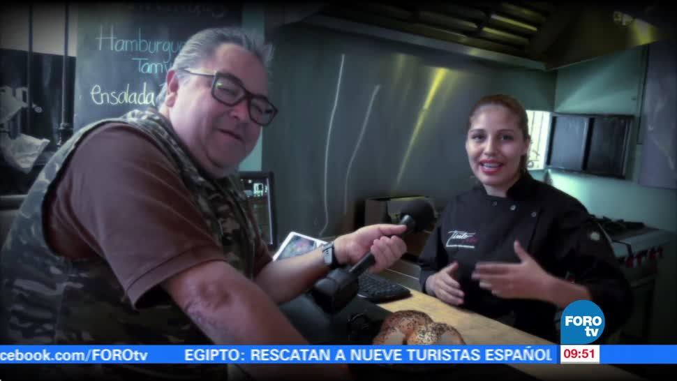 Viernes culinario Enrique Muñoz Hamburguesa artesanal