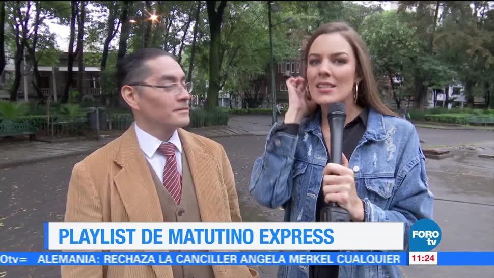 El Playlist Matutino Express Sofia Escobosa