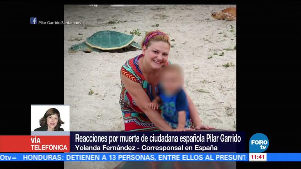 Reacciones muerte ciudadana española Pilar Garrido