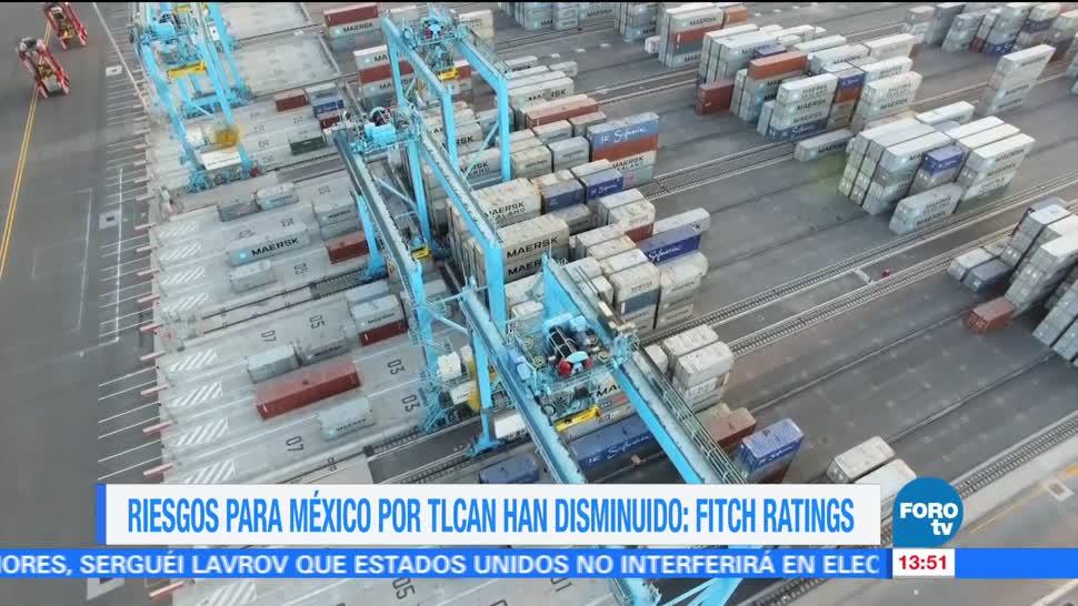 Fitch disminuyen riesgos renegociación del TLCAN