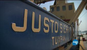 Buques Investigacion Oceanos Buque Oceanografico Justo Sierra