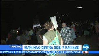 Protestan Contra Racismo Estados Unidos
