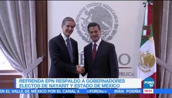 Epn Reune Gobernadores Electos Presidente Enrique Peña Nieto
